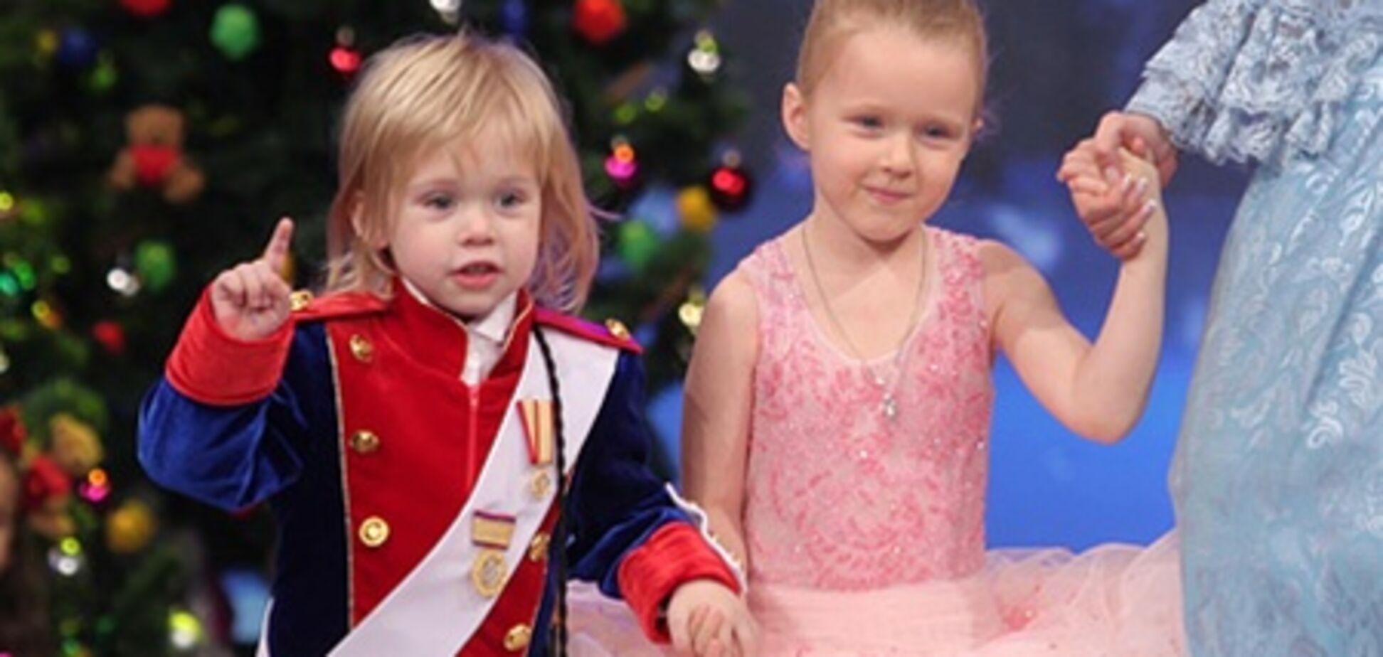Кильчицкая и Багатырева привели маленьких принцесс (ФОТО)