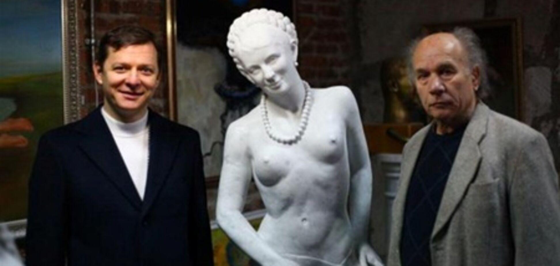 Ляшко опублікував фото з голими Тимошенко