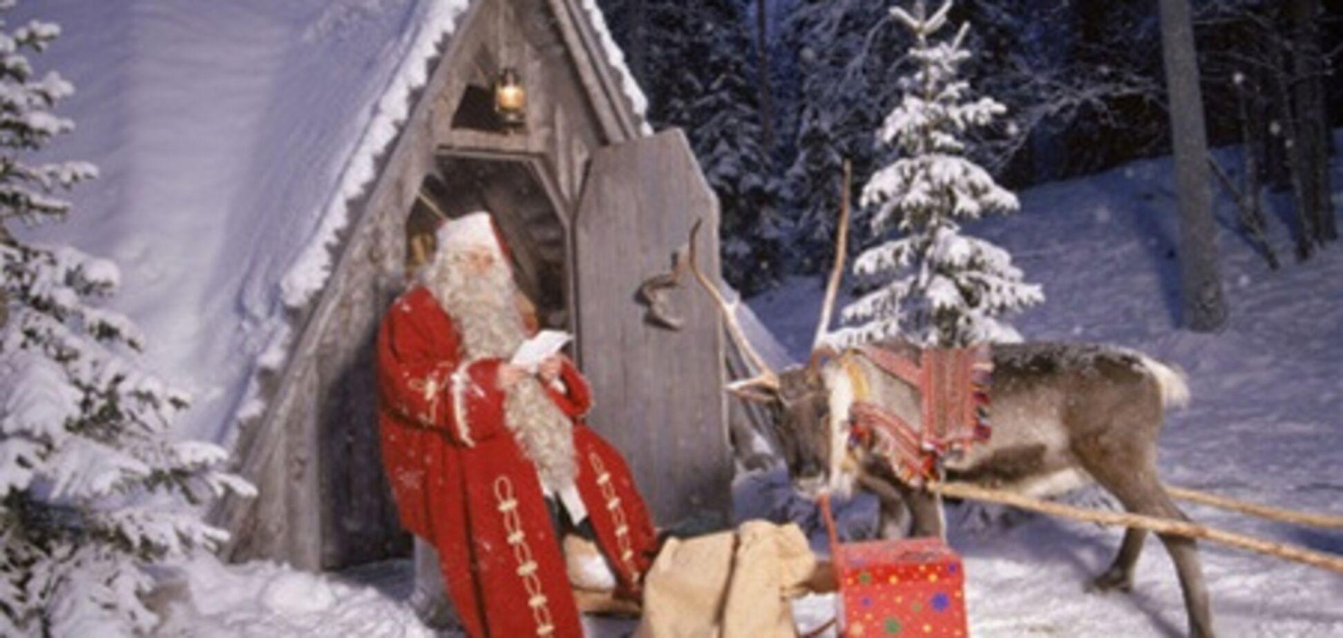 Злодії вибачилися перед Дідом Морозом за крадіжку мішка з подарунками
