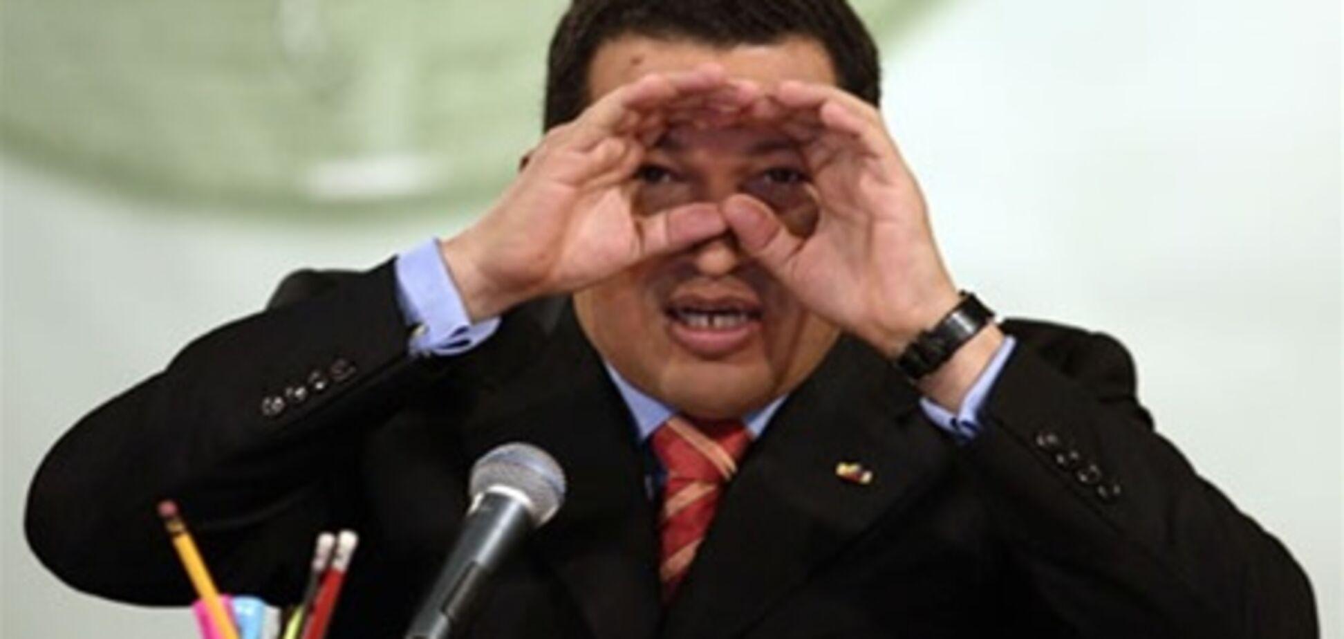 США в шоці від припущення Чавеса про зараження раком