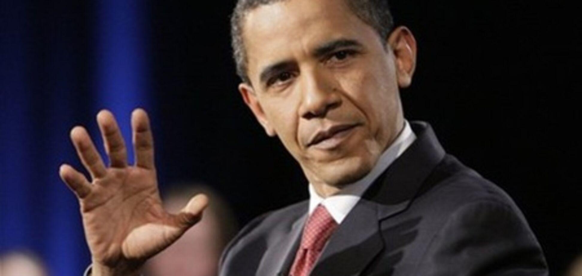 Обама все менше подобається американцям