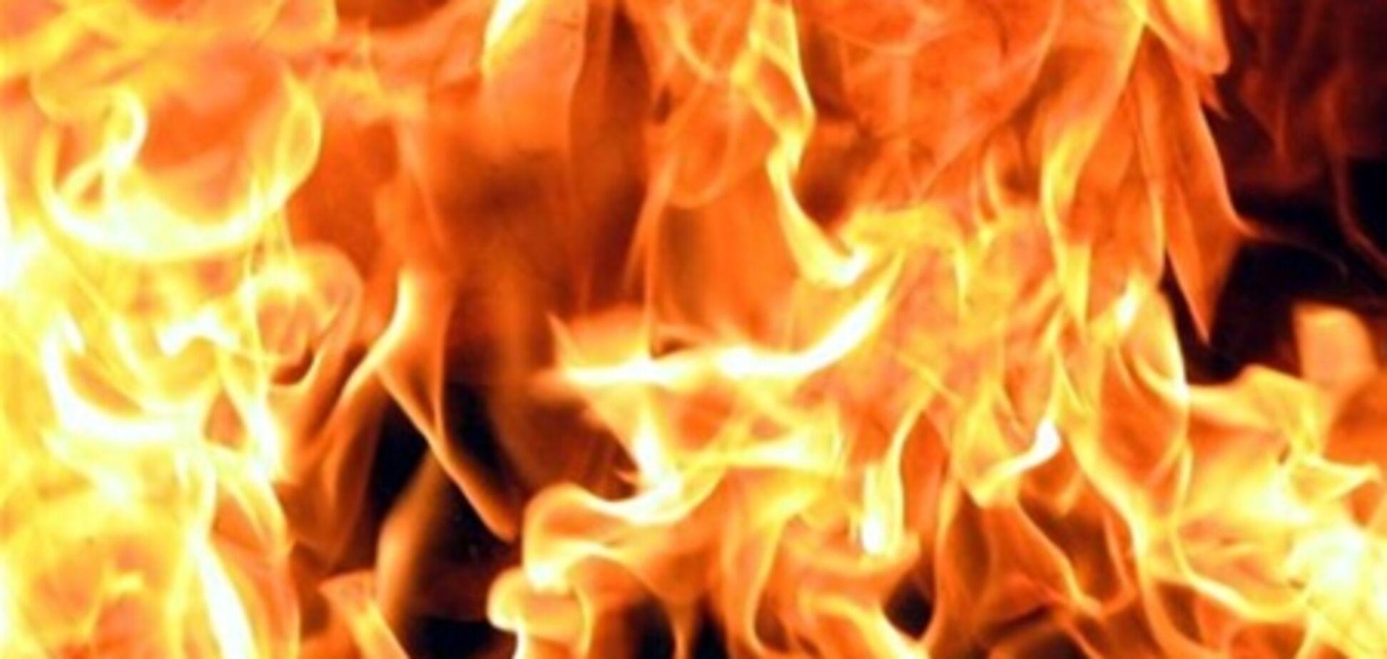 В Луцке горит ЦУМ
