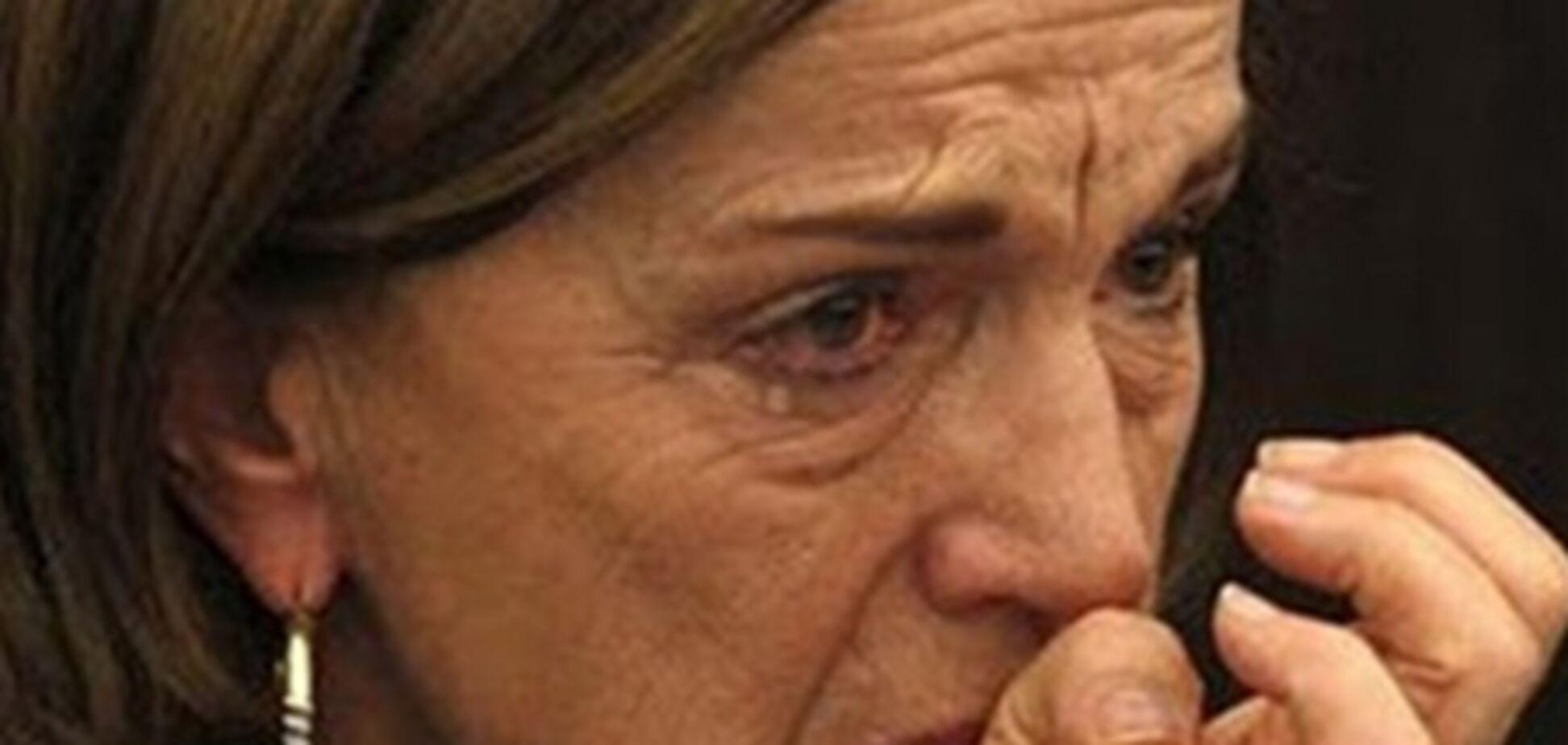 Міністр праці Італії заплакала під час виступу