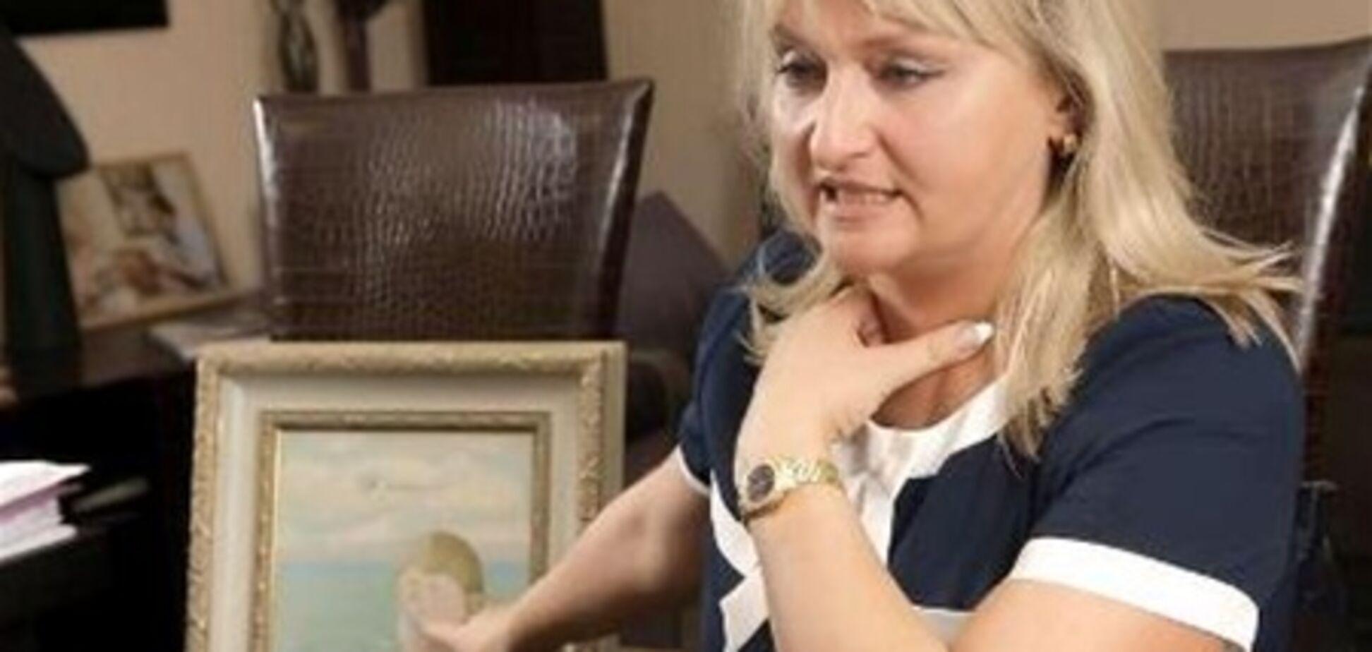 Дружина підсудного Луценка сміється на '95 кварталі'