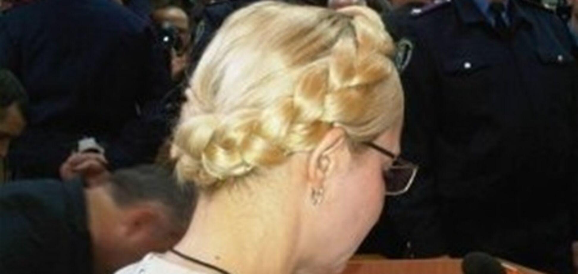 Суд в СИЗО: Тимошенко не поднялась с кровати