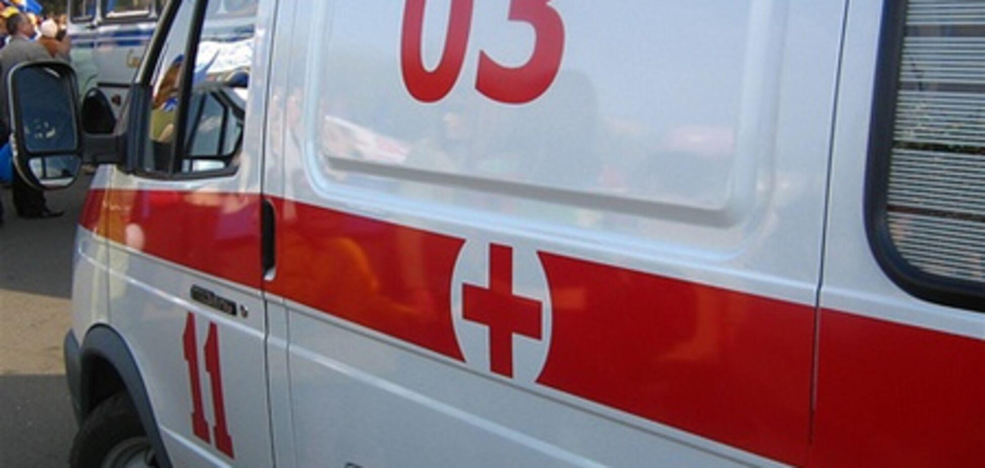 В Киеве  все чаще нападают на врачей скорой