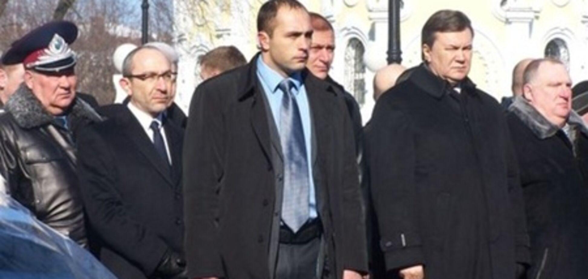 В Харькове Виктора Януковича назвали Виктором Ющенко