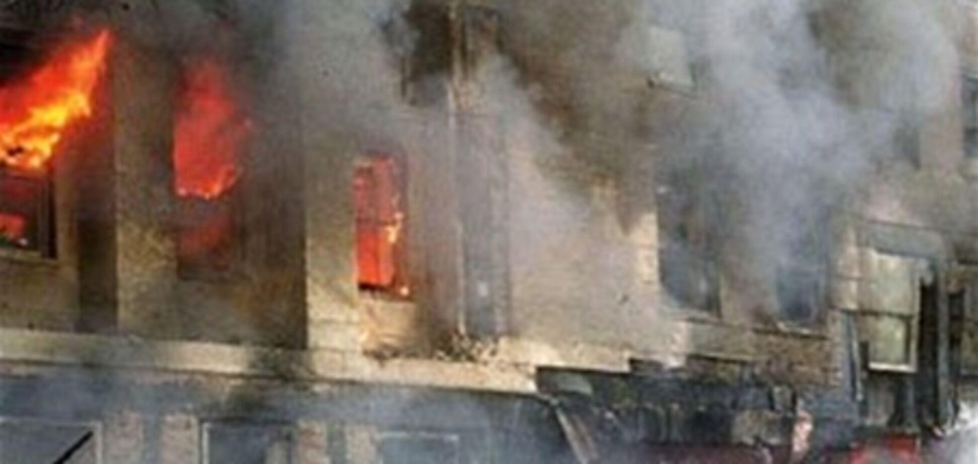 Бомба невідомого рознесла 'Майдан'