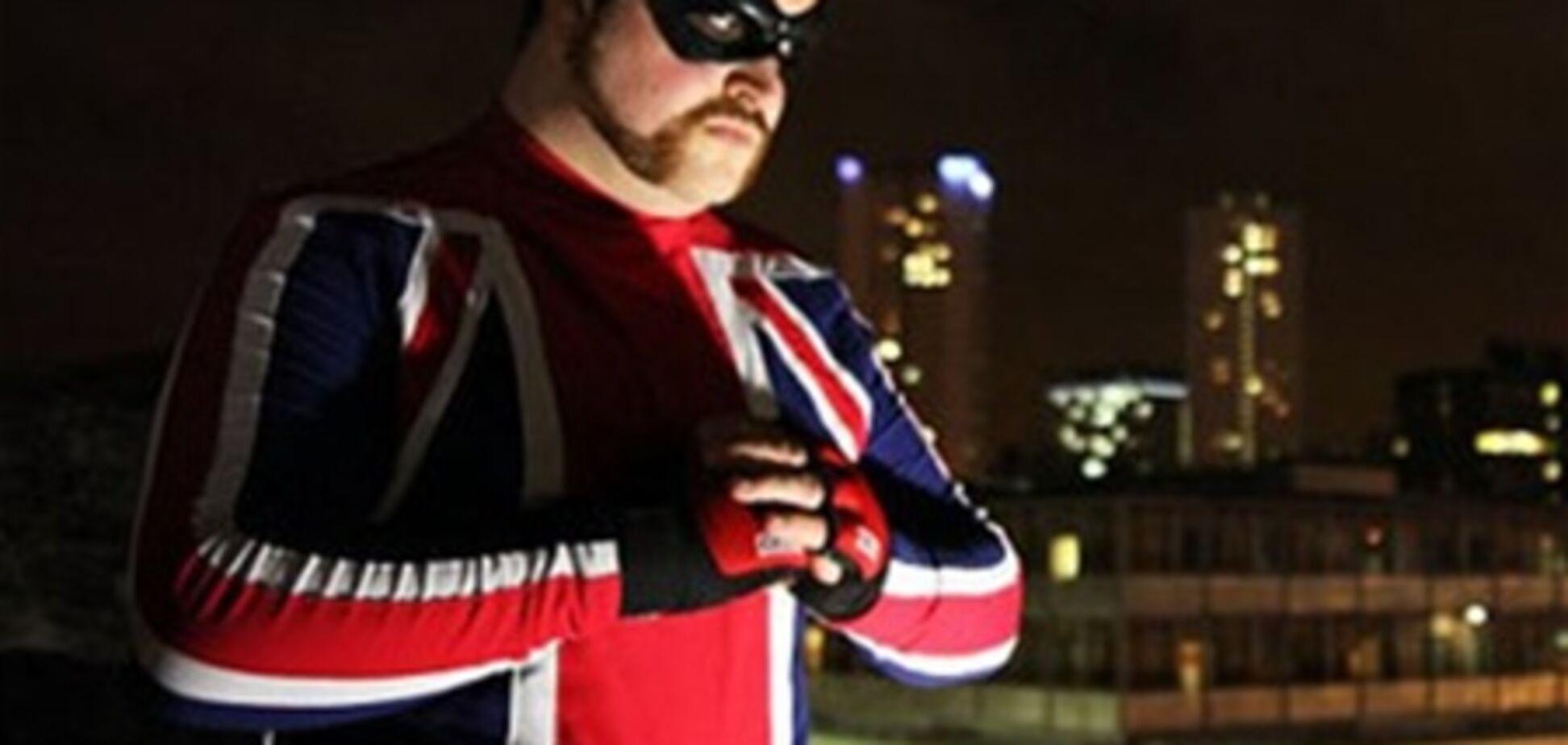 У Великобританії з'явився перший самопроголошений супергерой