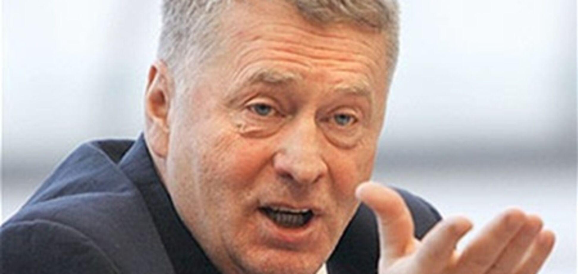 Партию Жириновского ограбили