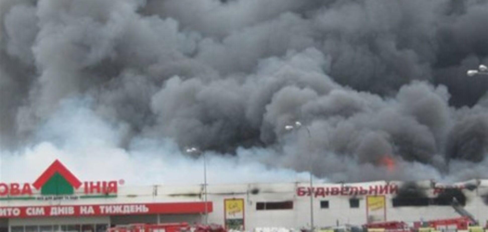 Пожежа в Запоріжжі. 6 відео