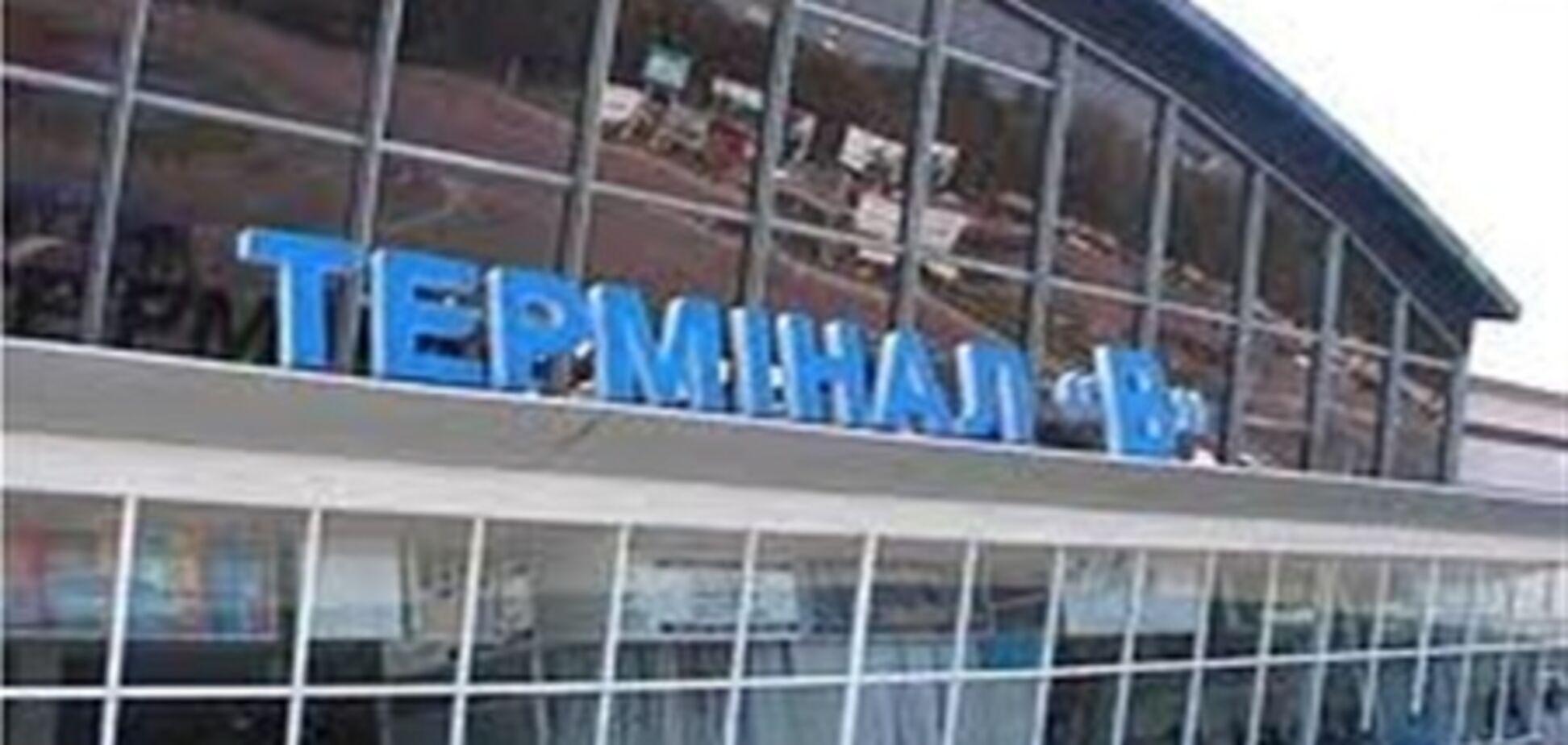 При зльоті у літака в 'Борисполі' відлетіло колесо