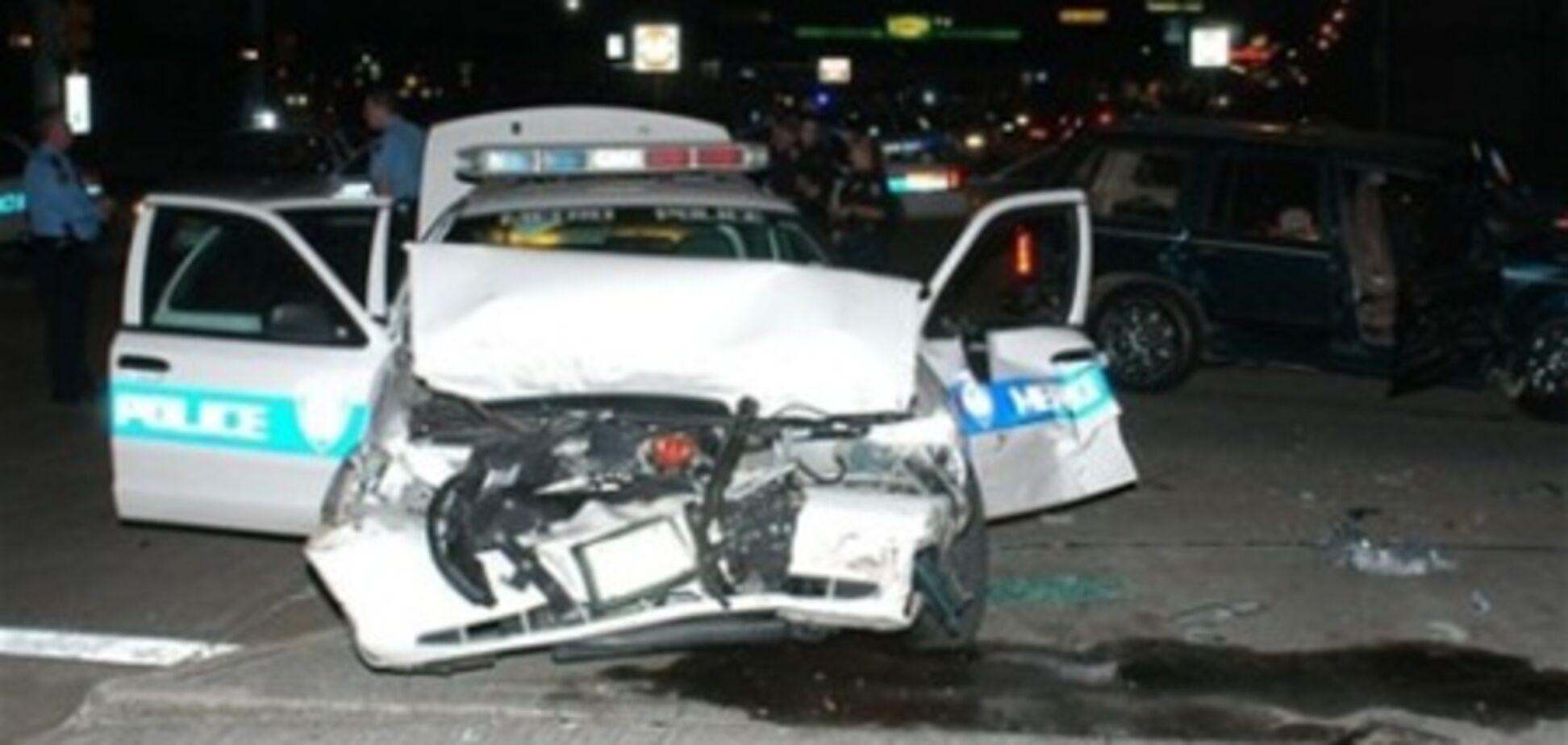 Більше всіх машини розбивають поліцейські