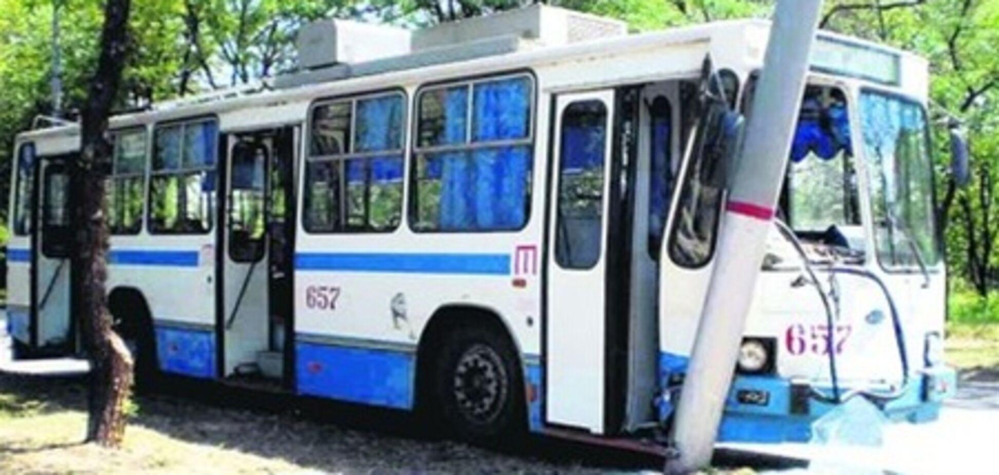 У Харкові попався нетверезий викрадач тролейбуса