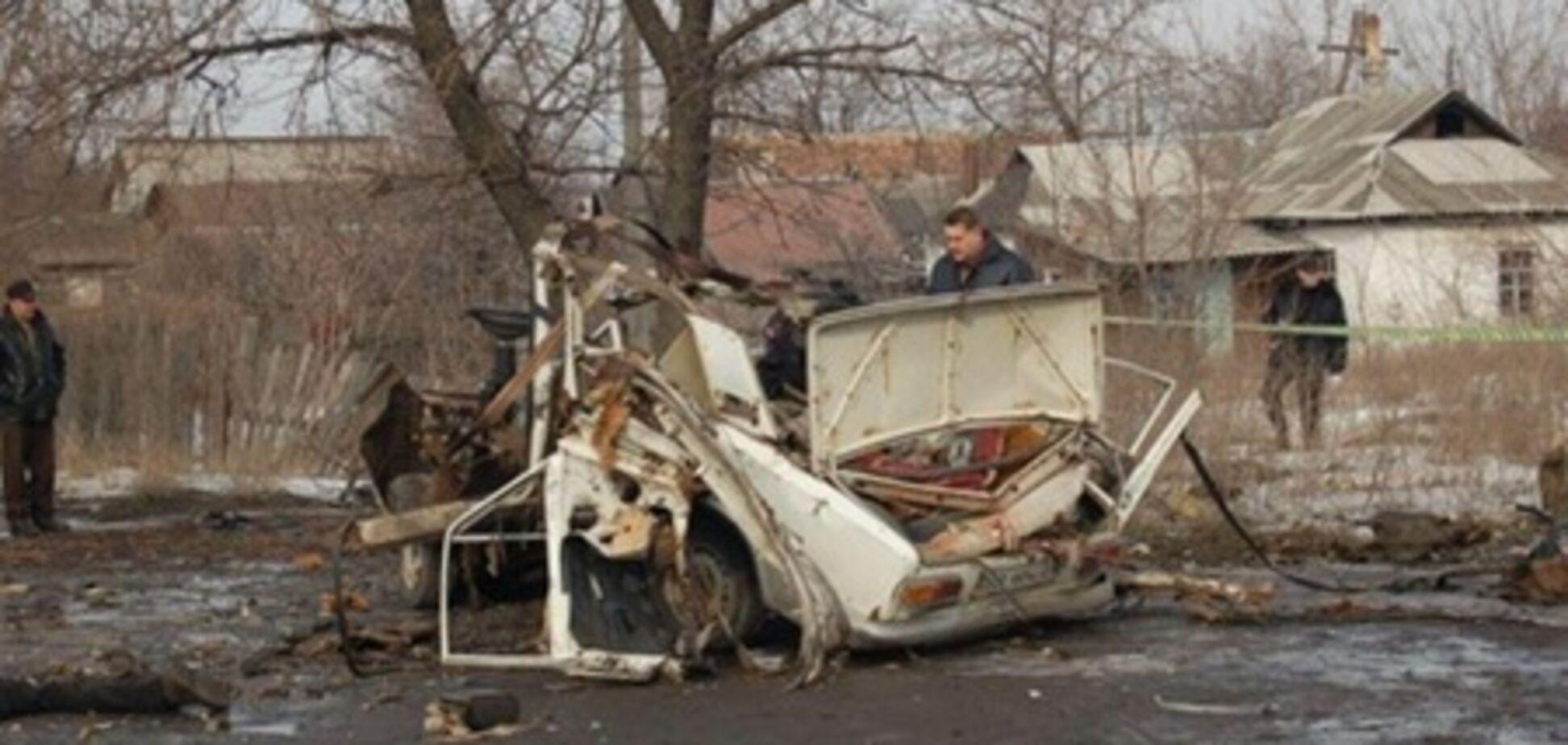 У Луганській області на очах у людей підірвали бізнесмена. Фото