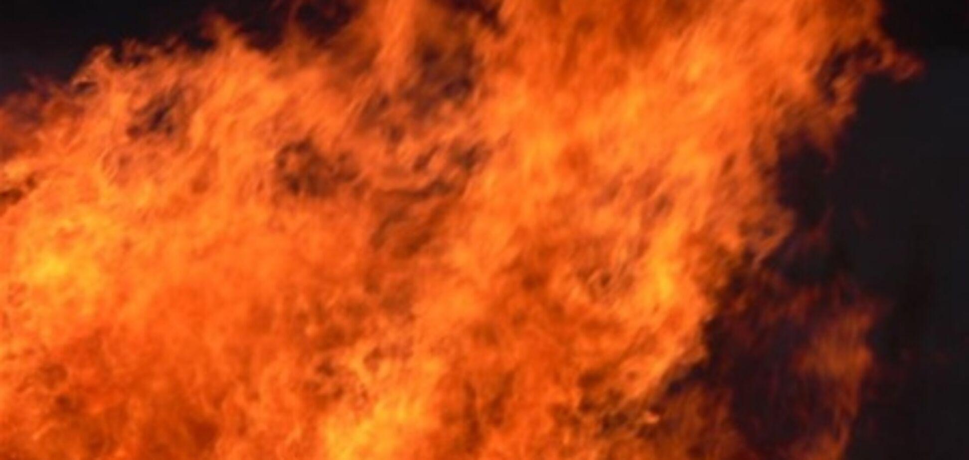 Кабельне ТБ підірвали і спалили