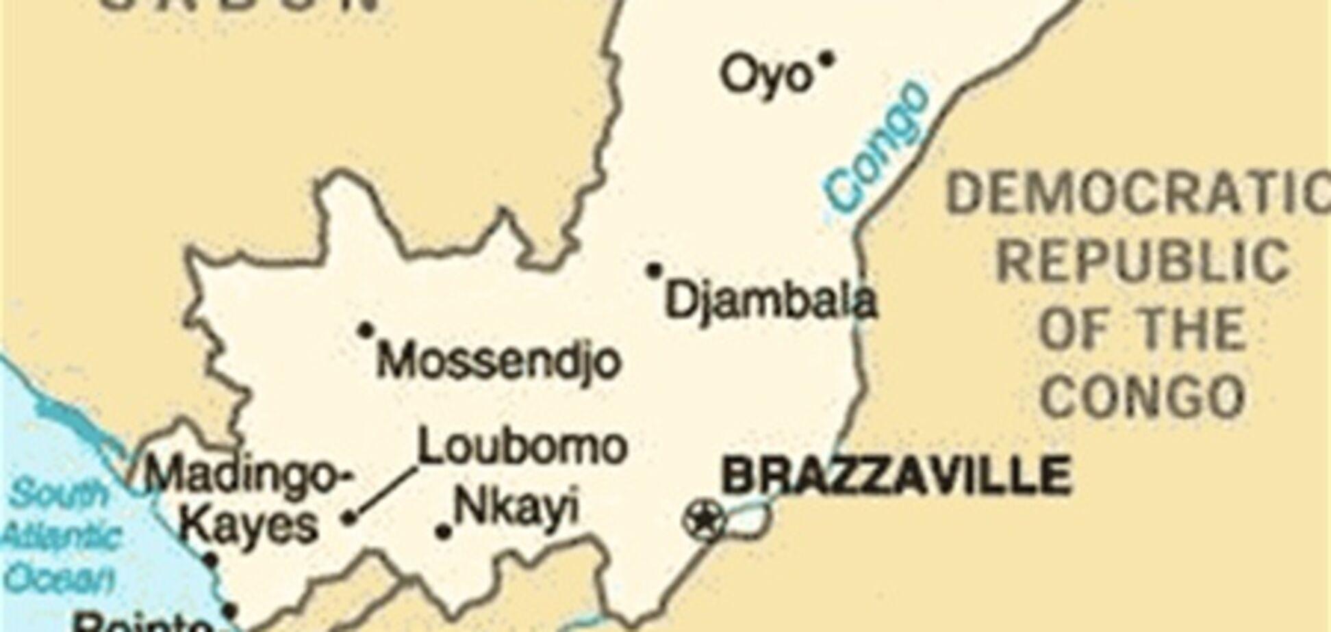 У Конго літак впав на житловий квартал