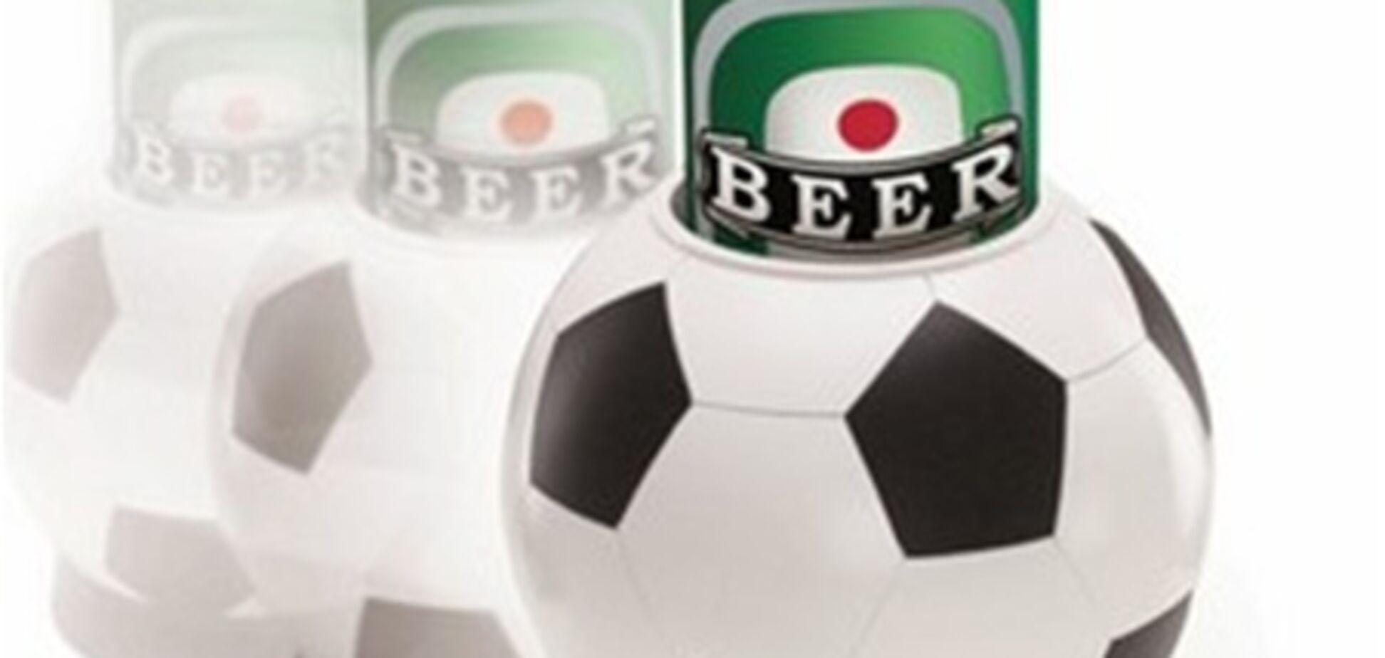 Сборная России по футболу 'ударила' по пиву