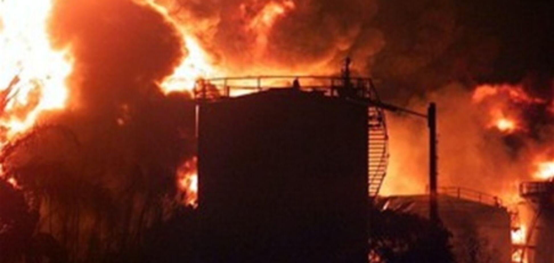 У Німеччині вибухнув танкер з 900 000 літрів бензину