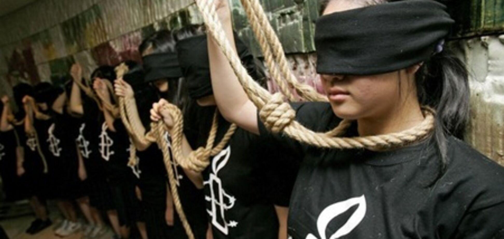 Смертні страти в світі: обезголовити, забити камінням, повісити