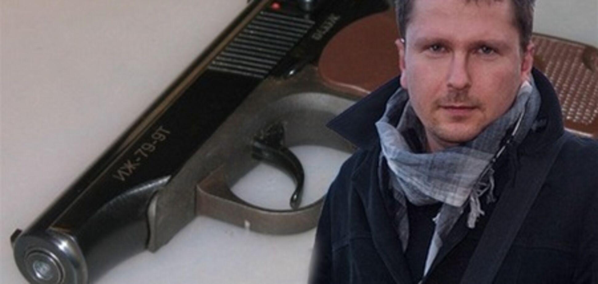 """Журналист """"Обозревателя"""" задержан за стрельбу"""