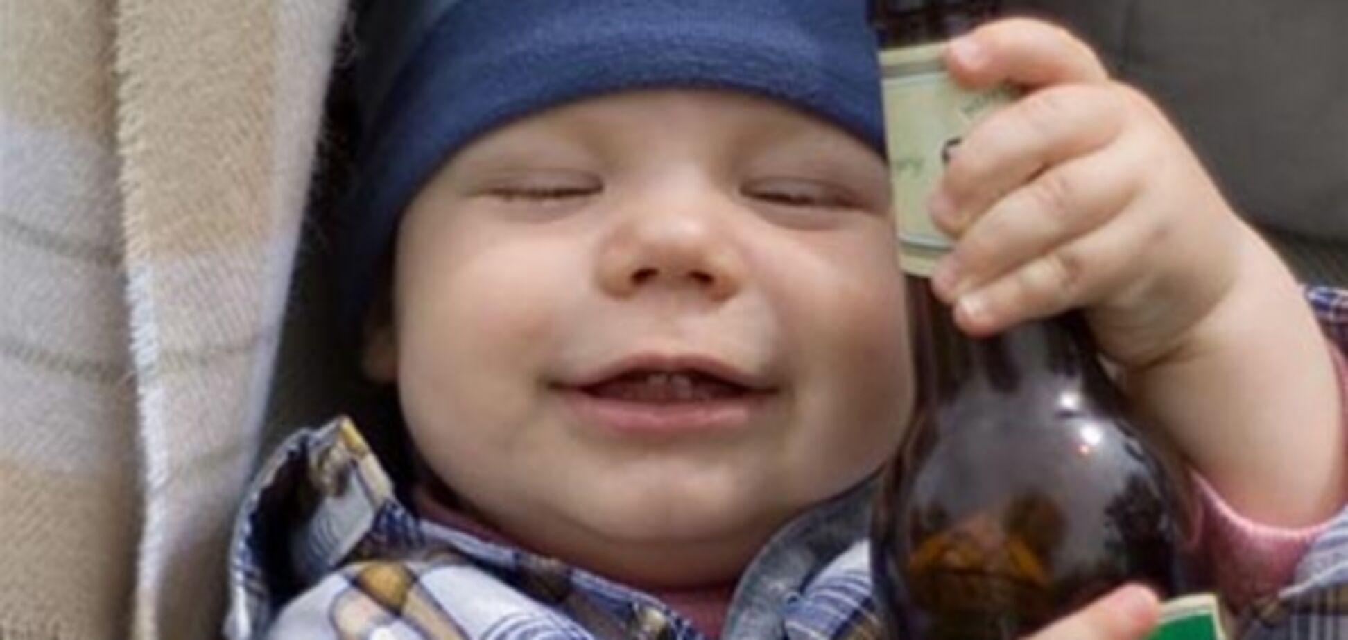В Великобритании госпитализирован трехлетний алкоголик