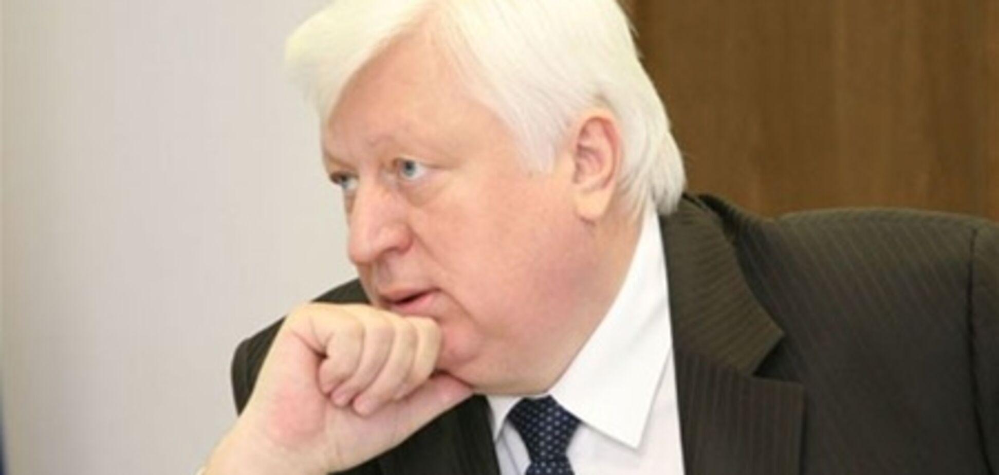 Виктор Пшонка: «Вопросы к Черновецкому есть и будут...»