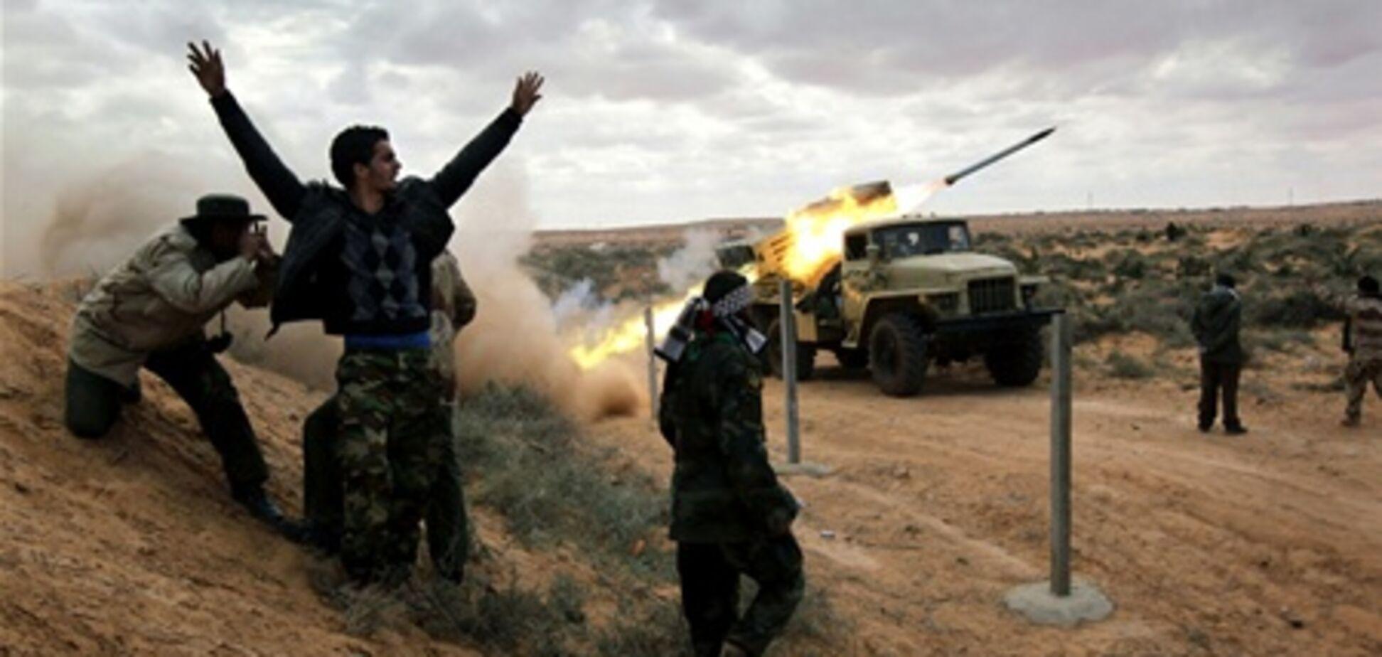 Отныне против Каддафи выступает Национальная освободительная армия