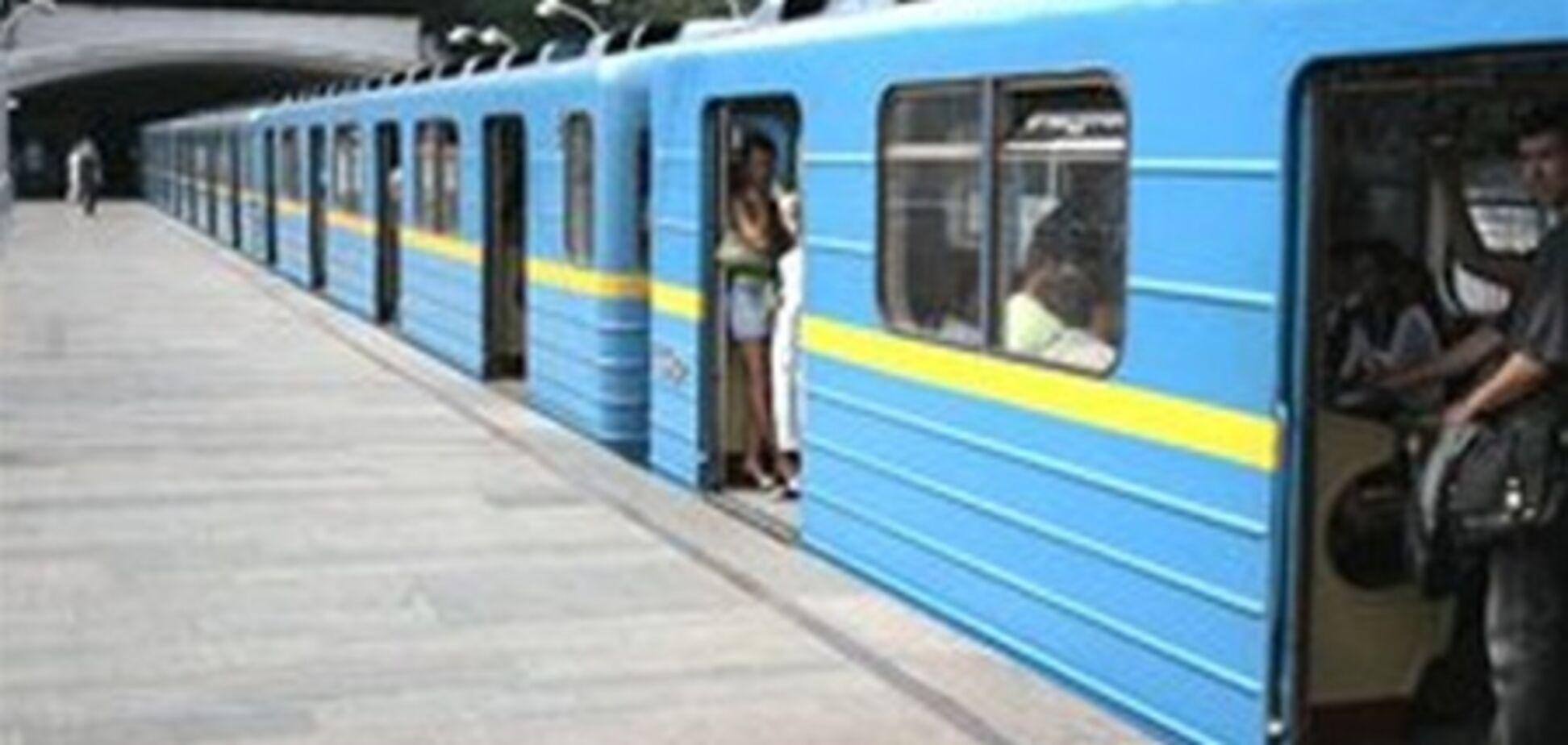 В Киевском метро можно погибнуть в любую секунду
