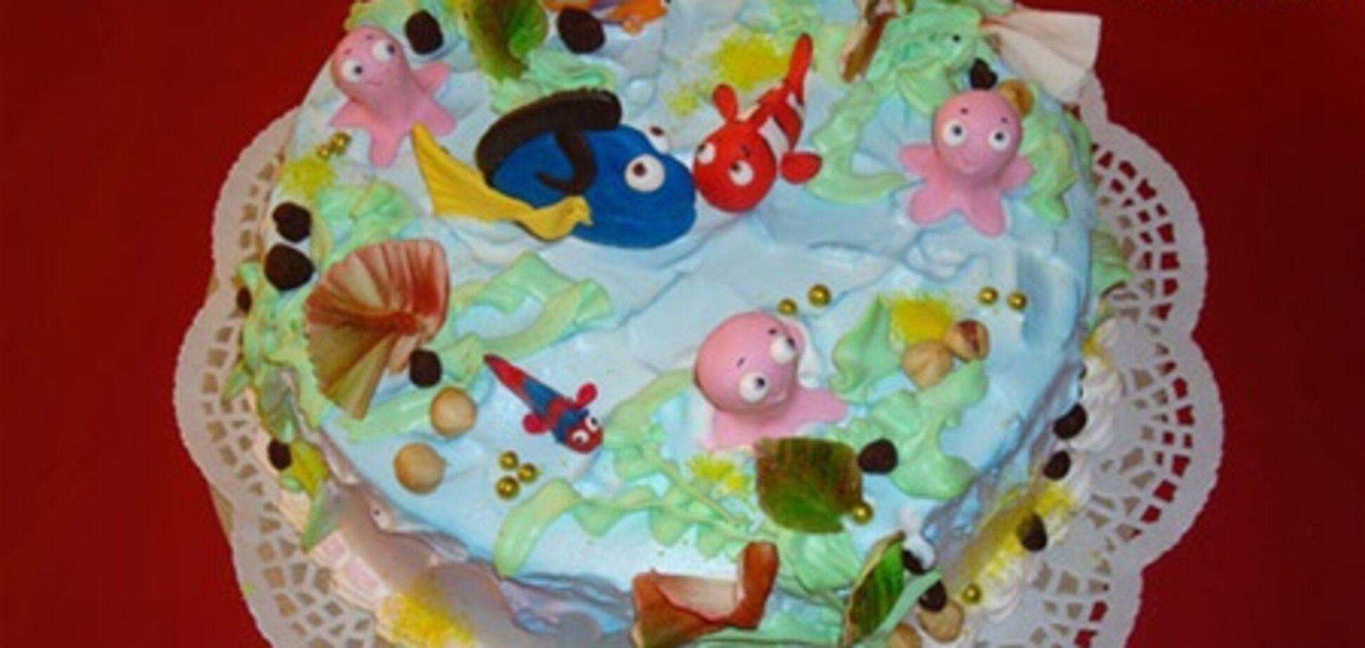 Оригінальні дитячі тортики