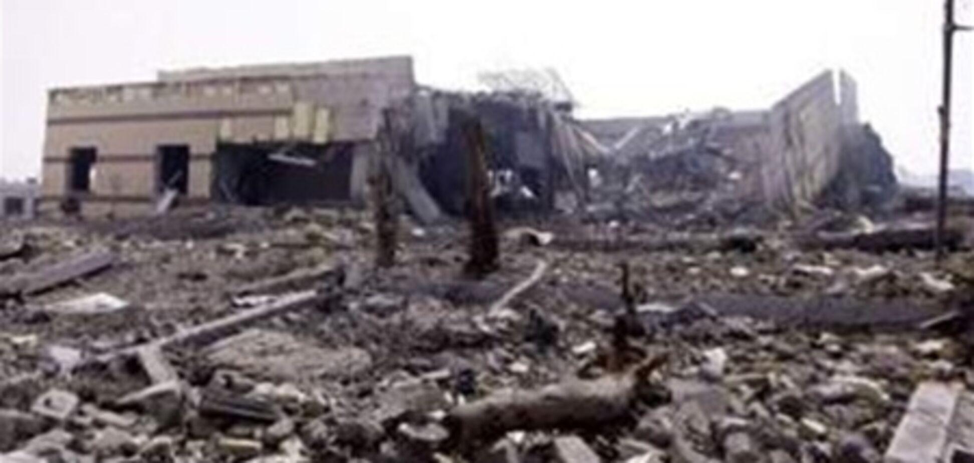 Два сильных взрыва произошли неподалеку от резиденции Каддафи