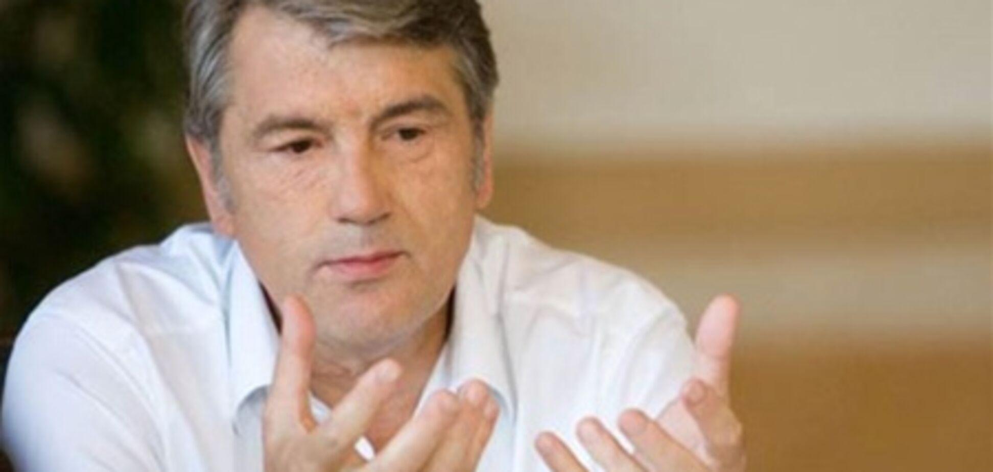 Ющенко вступився за Десятинну церкву