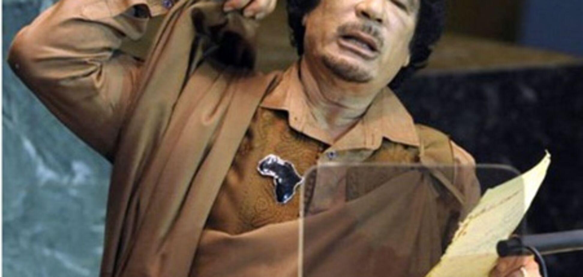 Мускул для Каддафі