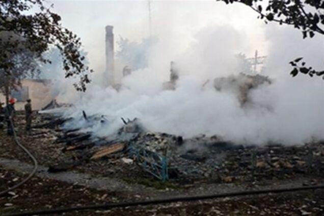 Пожар в доме престарелых под ровно дом престарелых иркутск вакансии