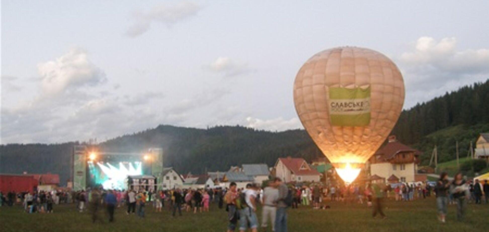 Рок-фестиваль «Славское 2011» встряхнул Карпаты