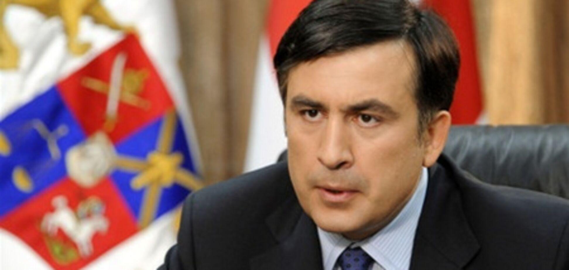 Саакашвили призвал европейцев не отдавать Беларусь России