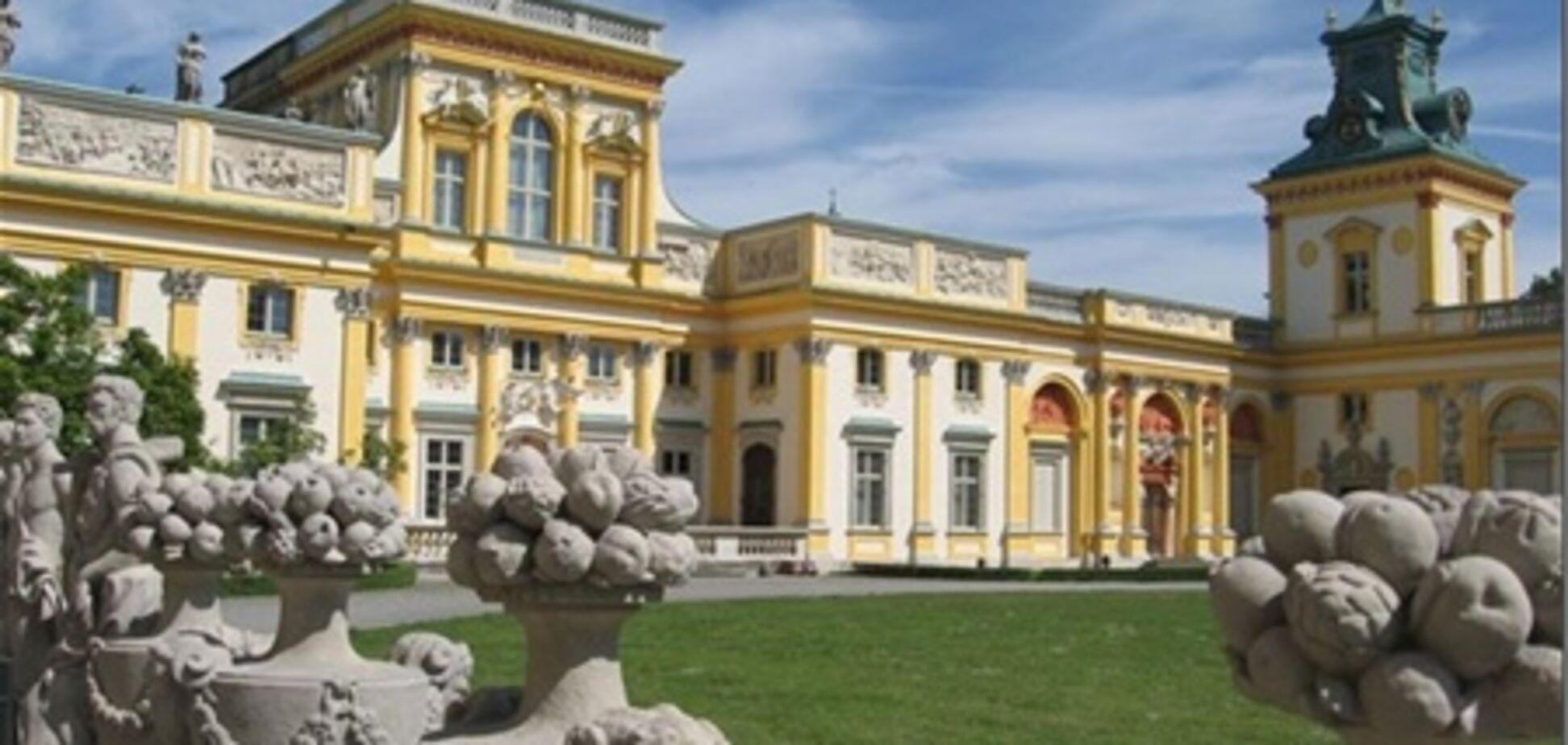 Дворцы и замки Польши