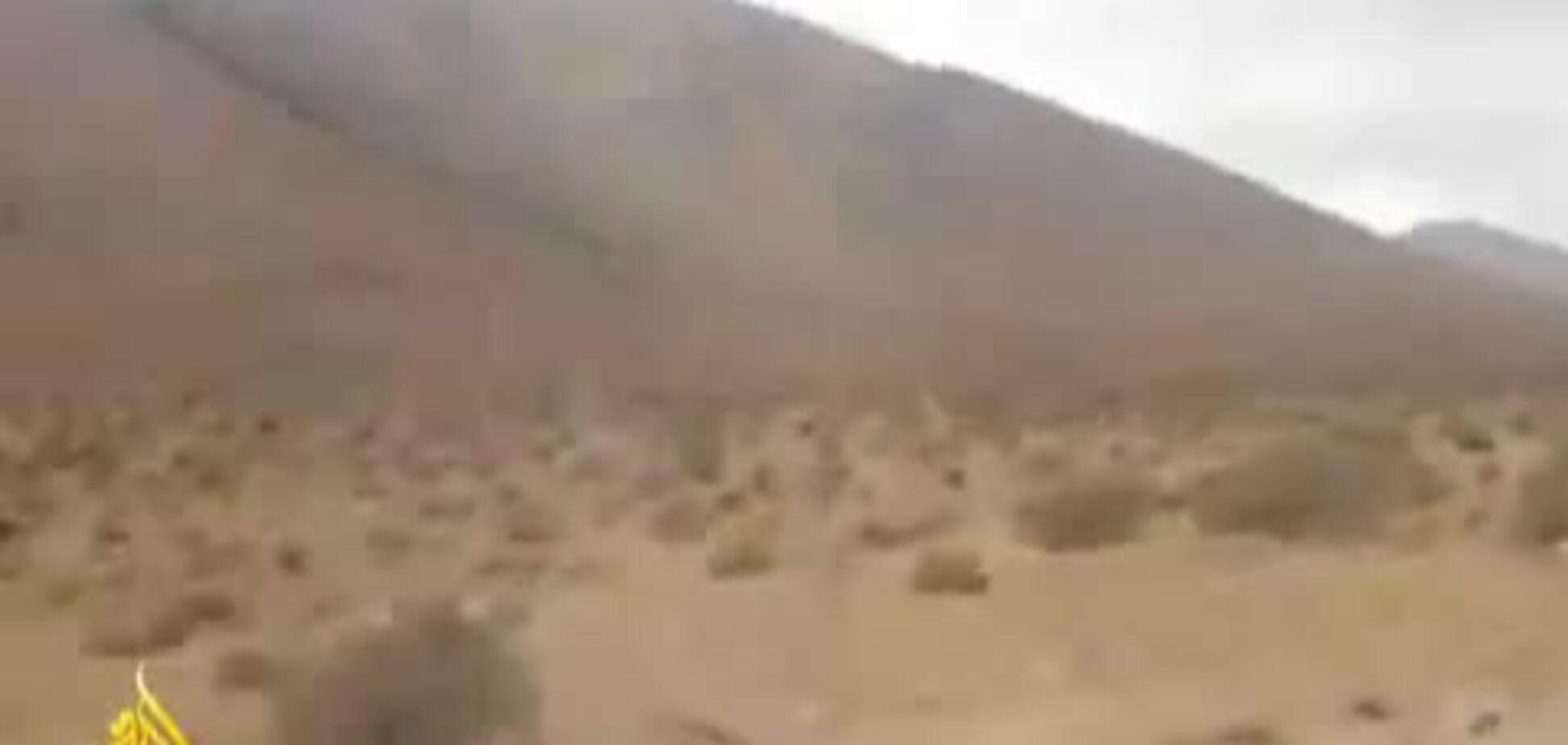 Оперативные кадры с места авиакатастрофы в Марокко