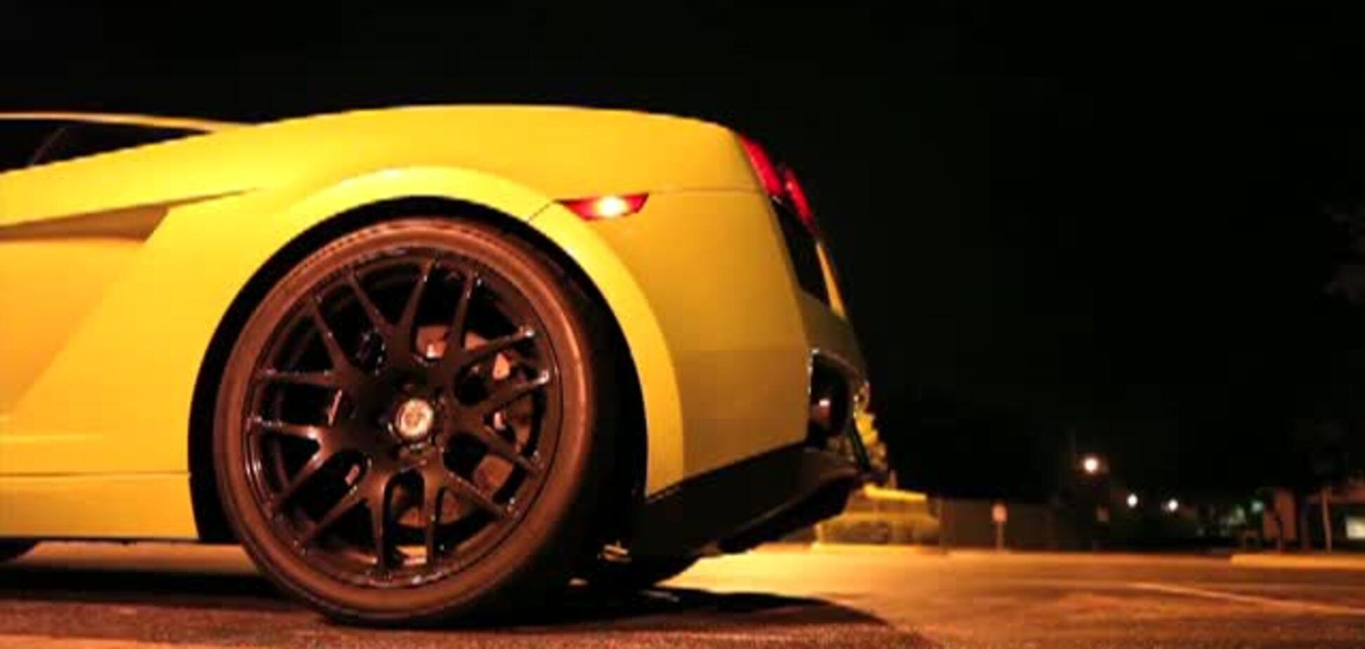 Тюнингованный Lamborghini Gallardo Twin Turbo