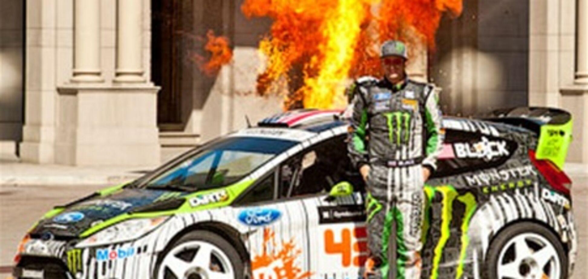 Кен Блок представил свой новый гоночный автомобиль