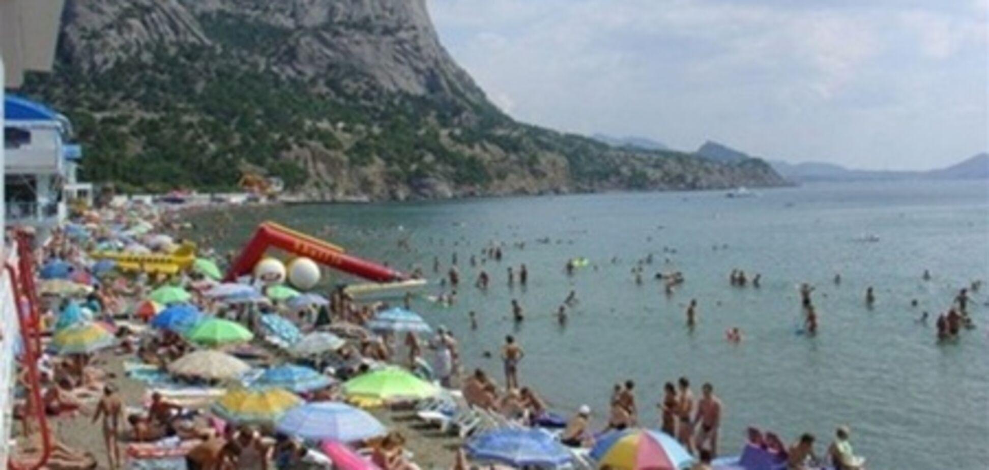 Погода оставила Крым без туристов