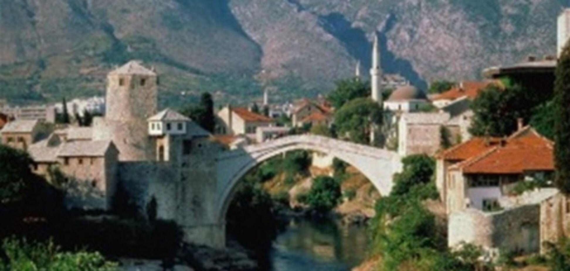 Украинцы смогут ездить в Боснию и Герцеговину без виз