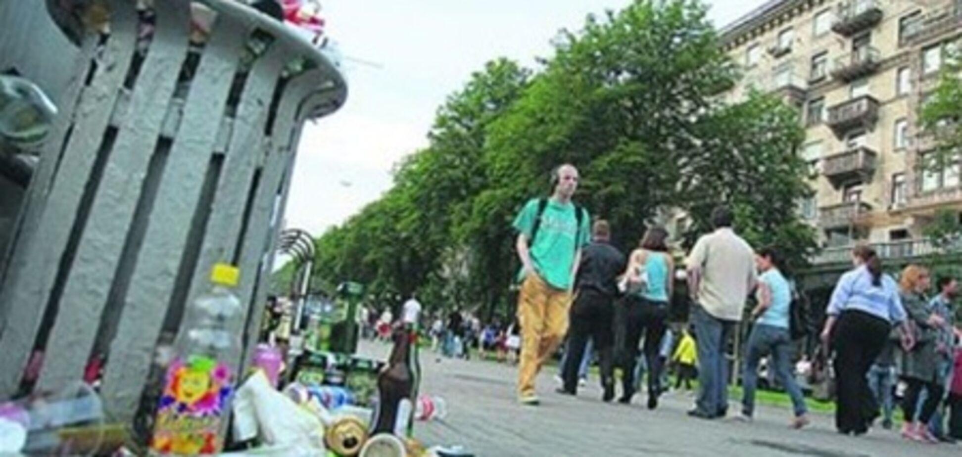 Киев оказался на грани 'мусорной' революции