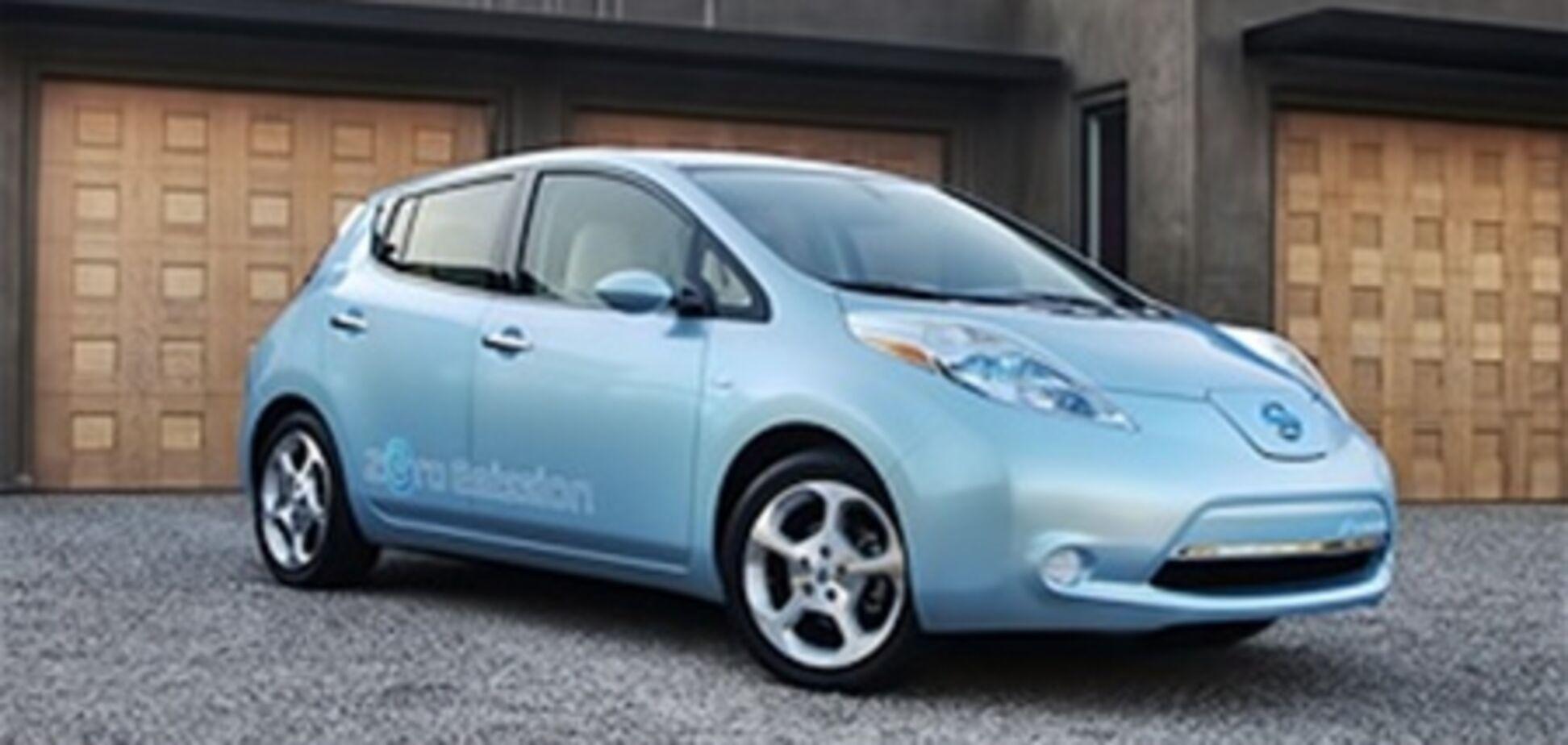 NHTSA провела краш-тесты электрокара Nissan Leaf