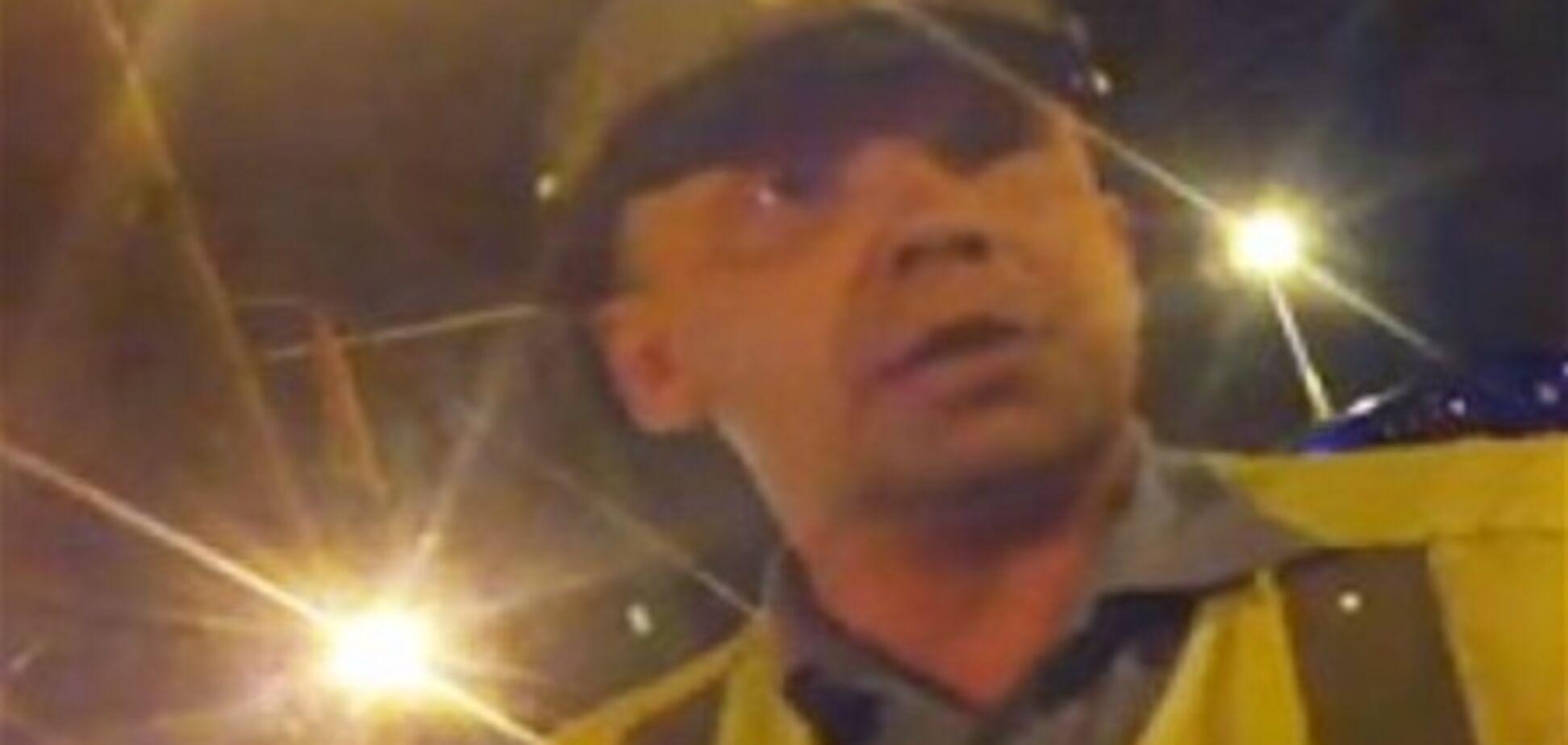 Гаишник из ролика 'Пойду резать, убивать и грабить' уволен. Видео