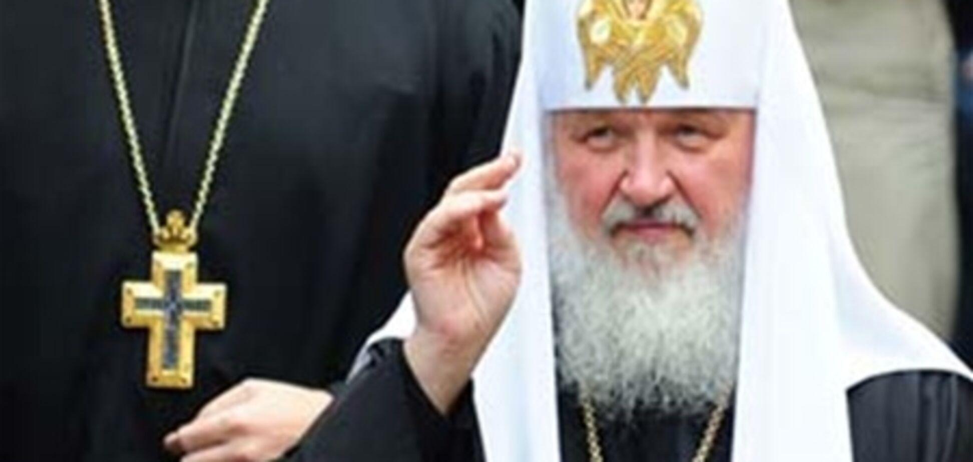 Патриарх Кирилл раскрыл цель своего визита в Украину