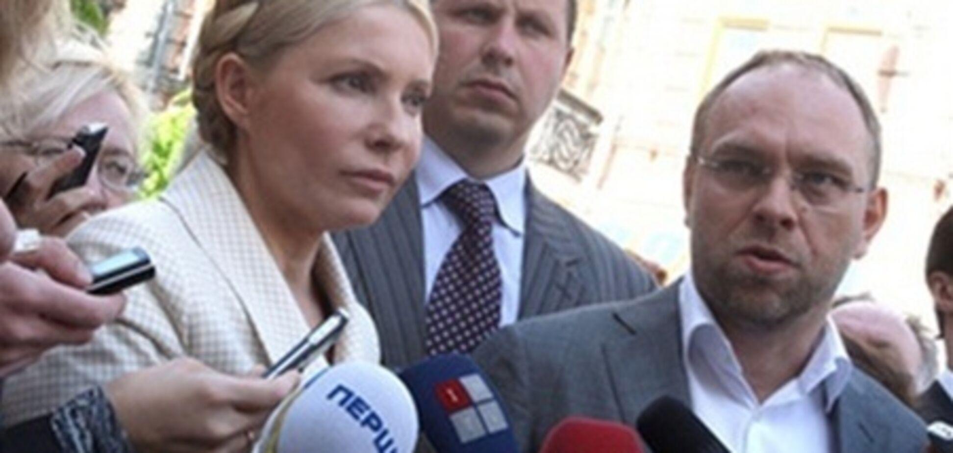 Экс-министр промполитики дал показания против Тимошенко