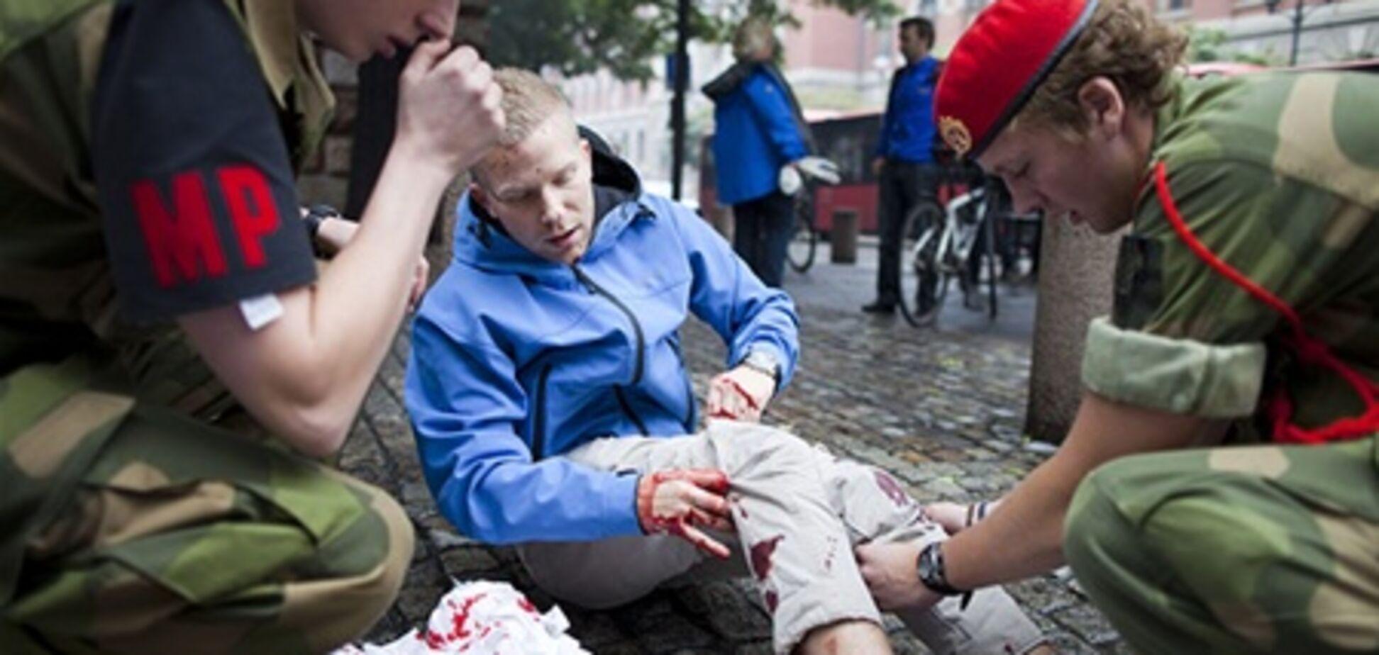 Перед взрывом в Осло Брейвика засняли на видео