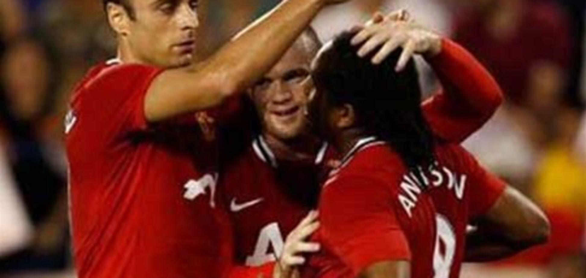 'Манчестер Юнайтед' разгромил команду Дэвида Бекхэма