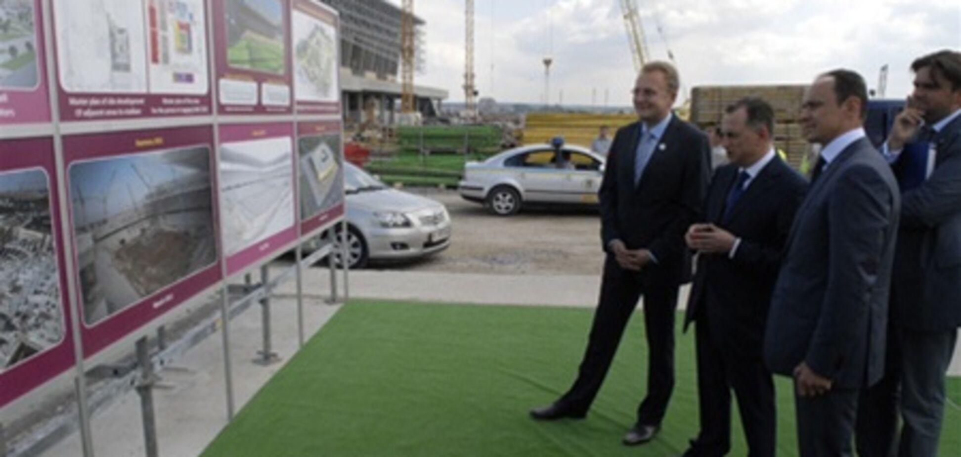 Колесніков: Янукович відкриє євростадіон у Львові 28 жовтня